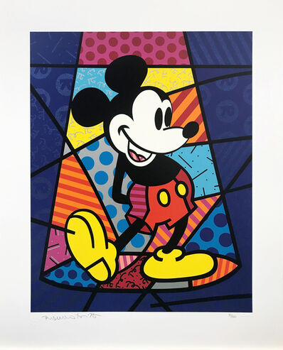Romero Britto, 'MICKEY MOUSE', 1998