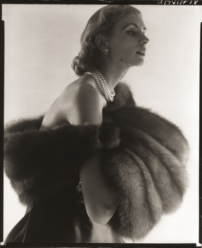 Horst P. Horst, 'Suzy Parker, Fur Series for Vogue', 1949