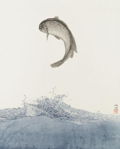 He Xi, 'See the Sea V', 2019