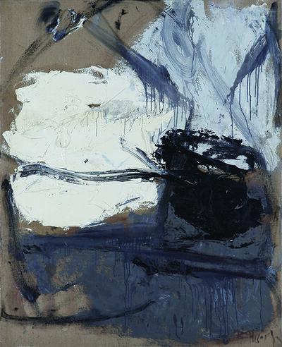 Huang Rui 黄锐, 'White, Grey and Black', 1988