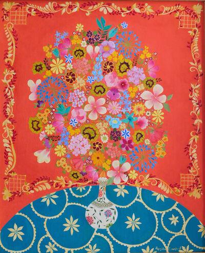 Hepzibah Swinford, 'Flowers with Geranium Leaves', 2017