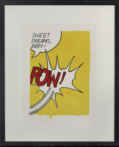 Sophie Matisse, 'POW (After Roy Lichtenstein)', 2002