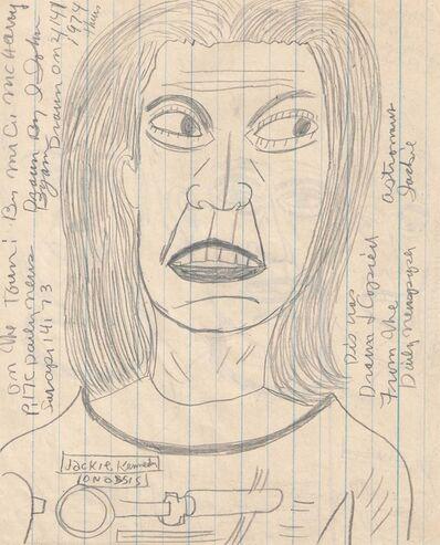 John Byam, 'Untitled (Jackie Kennedy Onassis)', 1974