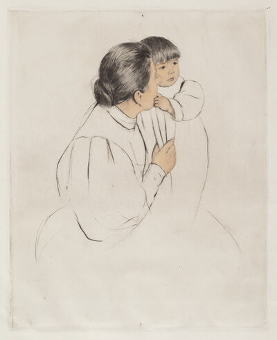 Mary Cassatt, 'Peasant Mother and Child', ca. 1894