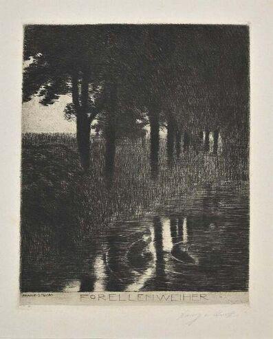 Franz von Stuck, 'Forellenweiher', 1890s