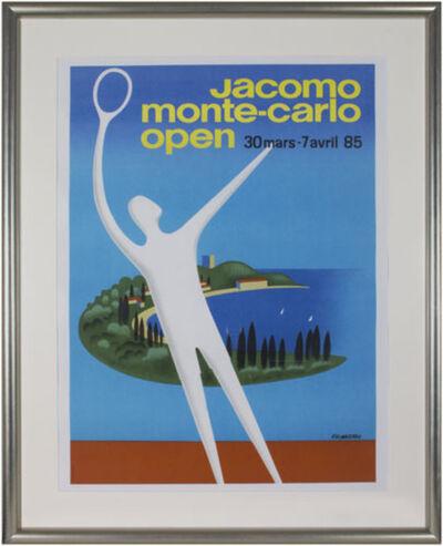 Pierre Fix-Masseau, 'Jacomo Monte-Carlo Open', 1985