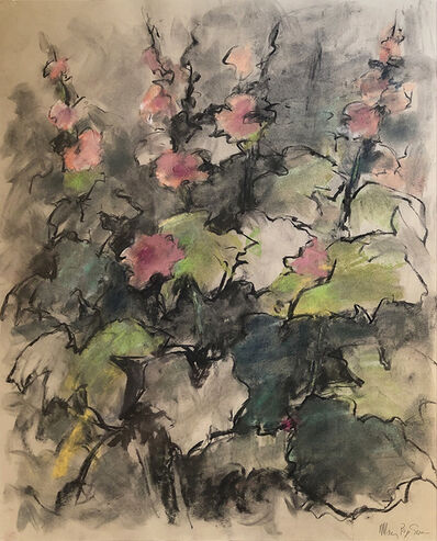 Mary Page Evans, 'Goodstay Hollyhocks', 2010