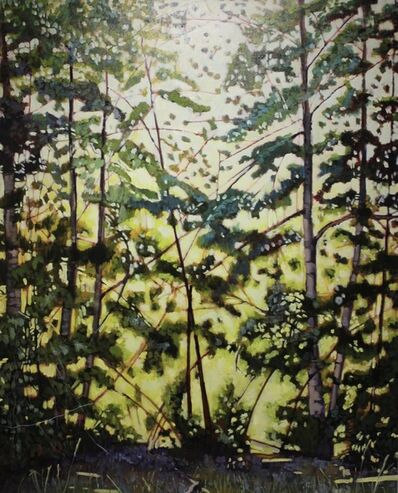 Tom Gale, 'Birches', 2016