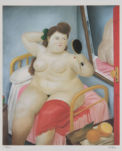 Fernando Botero, 'La Toilette, from Botero', 1982