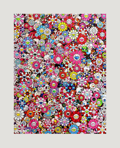 Takashi Murakami, 'Dazzling Circus Embrace Peace and Darkness', 2020