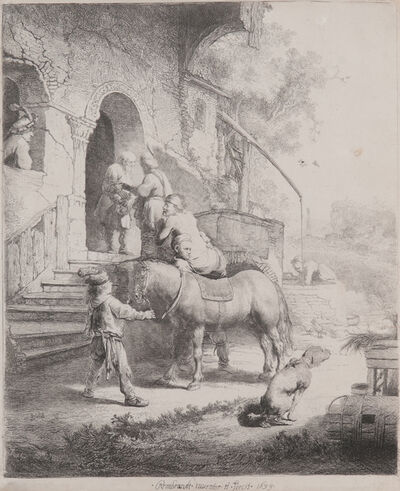 Rembrandt van Rijn, 'The Good Samaritan', 1633