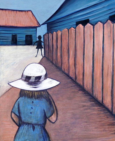 Charles Blackman, 'Schoolgirls in Laneway 1953', 0000