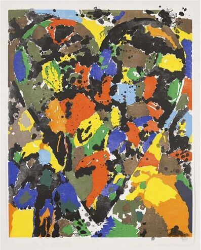 Jim Dine, 'Remembering Wallace Ting', 2010
