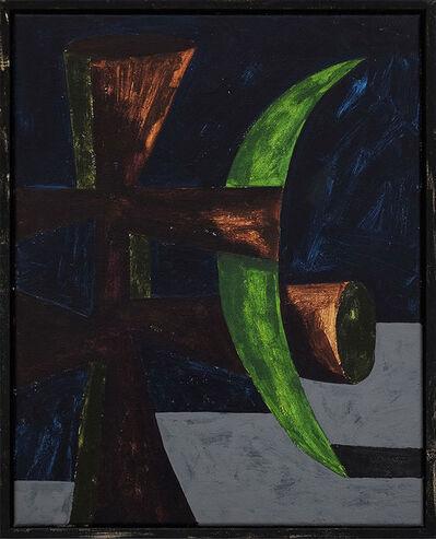 Jordy van den Nieuwendijk, 'Figure With Green Moon', 2016