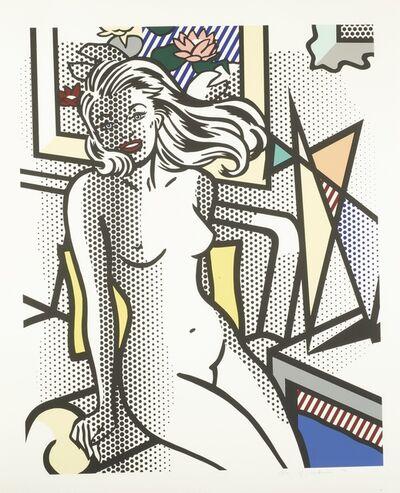 Roy Lichtenstein, 'Nude with Yellow Pillow (Corlett 283)', 1994