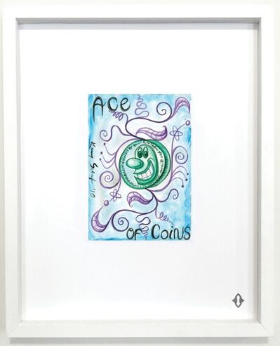 "Kenny Scharf, 'ACE OF COINS, From the series ""Contemporary Magic: A Tarot Deck Art Project"" Limited Edition 5th Anniversary Print Collection', 2015"