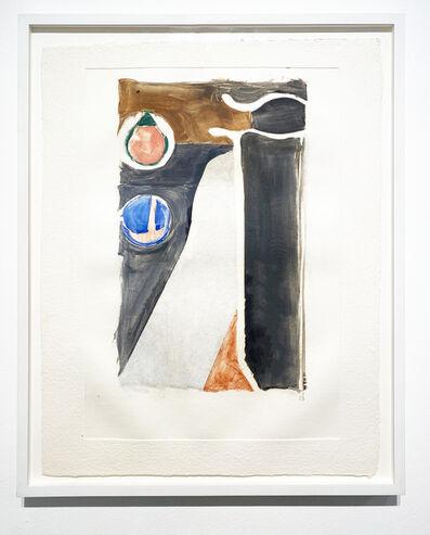 Richard Diebenkorn, 'V', 1988