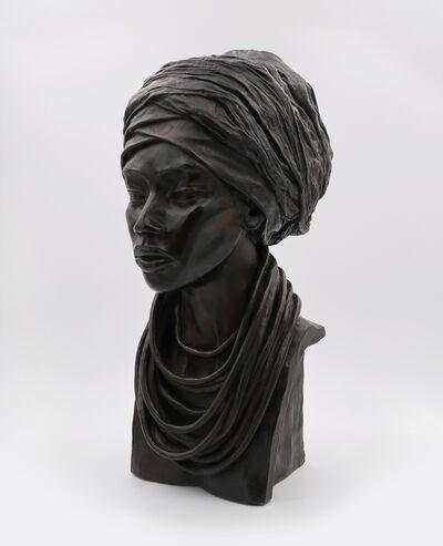 Brijite Bey, 'Woman headscarf', 2012