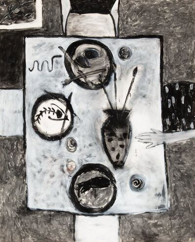 Squeak Carnwath, 'At Table', 1985
