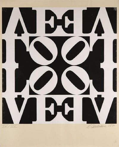 Robert Indiana, 'Decade III', 1971
