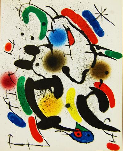 Joan Miró, 'Litografia Original VI', 1972
