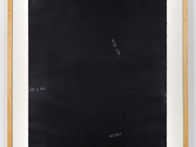 Robert Barry, 'Untitled', 1988