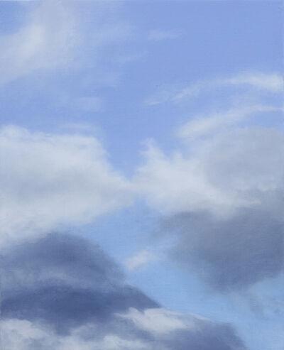 Rebecca Partridge, '30 Day Sky Studies (23)', 2017-2018