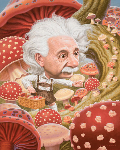 Todd Schorr, 'Einstein's Mushrooms', 2013