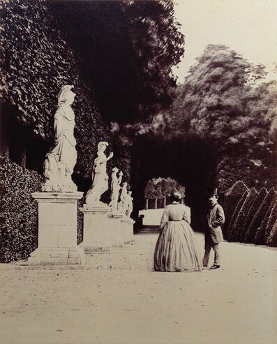 Pierre-Louis Pierson, 'On the Grounds of the Estate of the Duc d''Aumale', 1870s/1870s