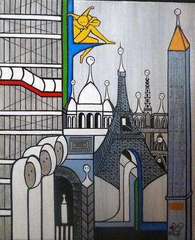 Béatrice COULIBEUF ESPEJO, 'Les insouciantes à Paris', 2019