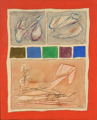 Achille Perilli, 'Ancora Più', 1962