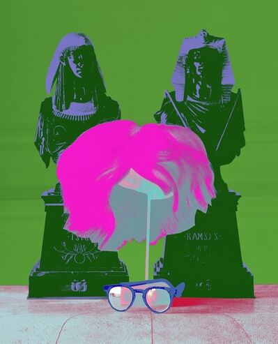 David Gamble, 'Andy Warhol's Wig & Glasses (Marilyn Color Series)', 1997