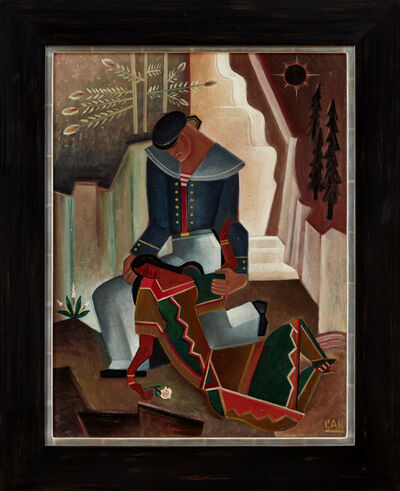 Gösta Adrian-Nilsson, 'Farewell to Maimuna (Shanty)', ca. 1920