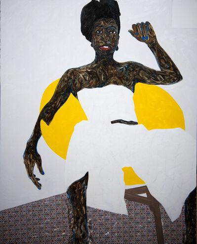 Amoako Boafo, 'Cynthia', 2019