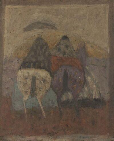 Zoran Antonio Mušič, 'Cavalini', 1957