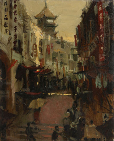 Milt Kobayashi, 'Japanese Street Scene', 1985-1999