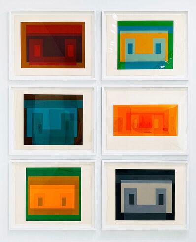 Josef Albers, 'Six Variants', 1969
