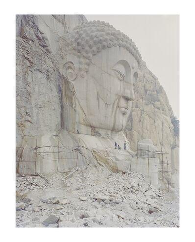 Zhang Kechun, 'A Buddha Head in the Mountain', 2015