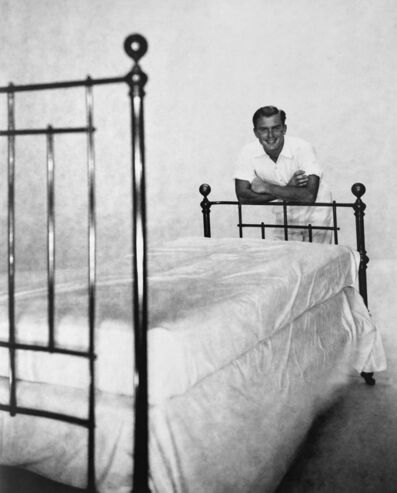 George Platt Lynes, 'Alexander Jensen Yow Leaning On Bed', 1930-1950
