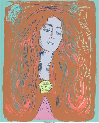Andy Warhol, 'Eva Mudocci (After Munch)', 1984