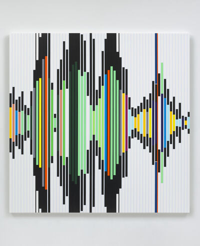 Sarah Morris, 'Reality is its own Ideology [Sound Graph]', 2019