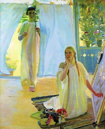 Oleksandr Murashko, 'The Annunciation', 1907-1908