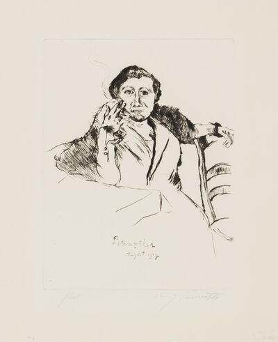 Lovis Corinth, 'Petermannchen', 1919