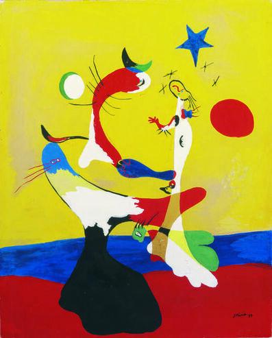 Joan Miró, 'Composition (Petit univers) (Composition, Small Universe)', 1933