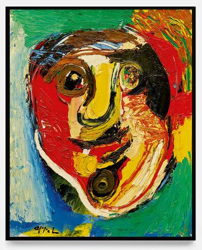 Karel Appel, 'Face d'homme ', 1966