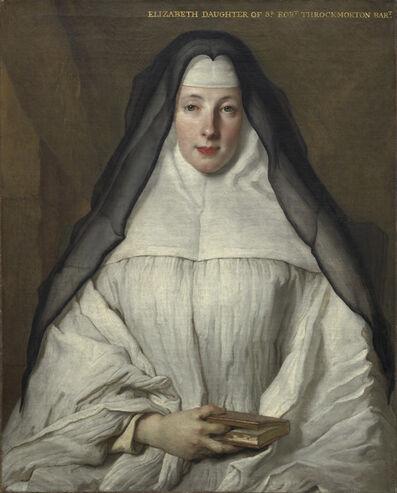 Nicolas de Largillièrre, 'Elizabeth Throckmorton, Canoness of the Order of the Dames Augustines Anglaises', 1729