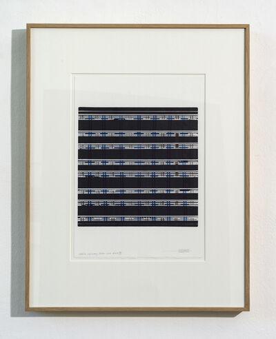 Manfred Mayerle, 'Suite Schwarz-Blau', 2018