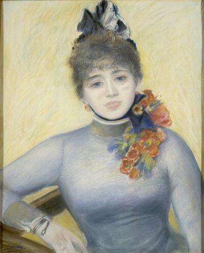 "Pierre-Auguste Renoir, 'Caroline Rémy (""Séverine"")', ca. 1885"