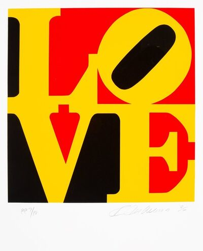 Robert Indiana, 'German Love', 1996