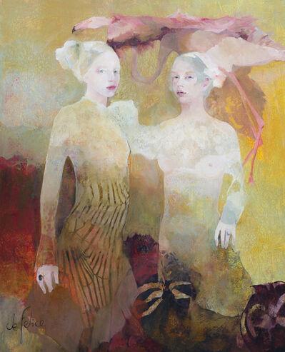 Françoise de Felice, 'La Vol du Flamant Rose', 2016